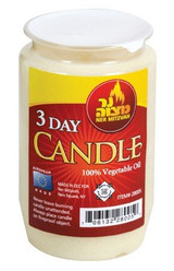 Ner Mitzvah 3 Day Memorial Candle