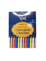 Aish Tamid Multi-Colored Candles