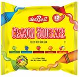 DeeBest Crayon Squeezer 8.4 Oz, 12pk