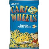 Zohar Cart Wheels Salt & Vinegar Crunchy Potato Snack, 113g