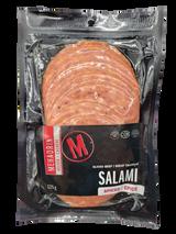 Mehadrin Kosher Spiced Sliced Beef Salami, 125g