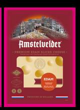 Amstelvelder Premium Edam Sliced Cheese, 150g