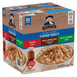 Quaker Instant Oatmeal Flavour Variety, 60pk