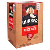Quaker Quick Oats 2 bags, 2.5kg