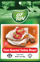 Of Tov Oven Roasted Turkey Breast, 125g