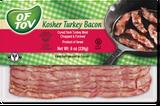 Of Tov Kosher Turkey Style Bacon, 150g