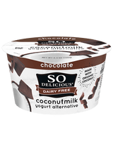 So Delicious Chocolate Coconut Milk Yogurt Alternative, 150g