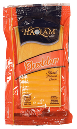 Haolam Yellow Cheddar Sliced Cheese, 170g