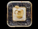 "Shana Tova 9"" Square Marble Plates, 10pk"