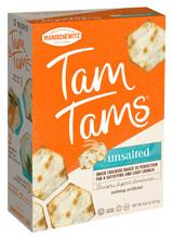 Manischewitz Unsalted Tam Tams, 272g