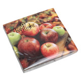 Twilight Colorful Apples Lunch Napkins, 20pk