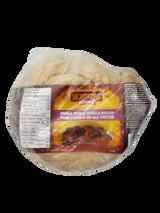 Unbaked Frozen Whole Wheat Challa Bread, 567g