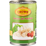 Crown Whole Hearts of Palm, 400g