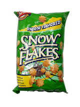 Gesher Onion Flavored Snow Flakes, 165g