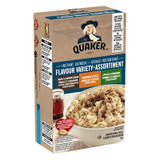 Quaker Instant Oatmeal Flavor Variety, 314g