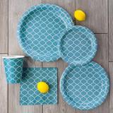 Lattice Blue Luncheon Napkin - 40 count