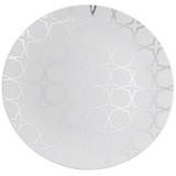 "10"" Trendables White Plastic Plates - 10 Ct."