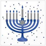 Happy Hanukkah Sparkle Luncheon Napkins 16ct.