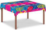 "Izzy & Dizzy 55"" x 92"" Chanukah Tablecloth"