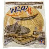 """Wrap-it 100% Whole Wheat 10"""" Wraps, 6pk"""