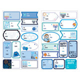 Amscan Hanukkah Gift Labels - 12 sheets - 150 stickers