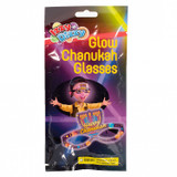 Izzy 'n' Dizzy Glow Chanukah Glasses