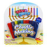 Izzy 'n' Dizzy Chanukah Candle Making Kit, 19pc.