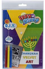 Izzy & Dizzy  Chanukah Velvet Art