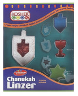 The Kosher Cook Chanukah Cookie Cutters, 4pk
