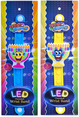 Izzy 'n' Dizzy LED Chanukah Wrist Band