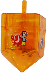 Izzy 'n' Dizzy Fillable Dreidel, 1ct.