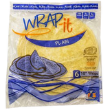"""Wrap-it Plain 10"""" Wraps, 6pk"""