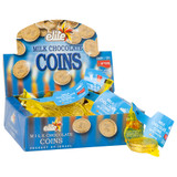 Elite Milk Chocolate Coins, 24pk