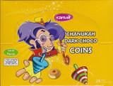 Carmit Dark Chocolate Coins, 24pk
