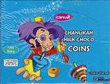 Carmit Dairy Chocolate Coins, 24pk