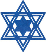 Amscan Star of David Placemat