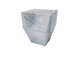 Chanukah Sameach Silver/White 8 Oz Condiment Bowls, 10pk