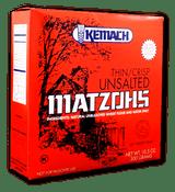Kemach Thin/Crisp Unsalted Matzohs, 300g