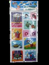 Izzy & Dizzy 3D Chanukah Stickers
