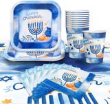 Izzy & Dizzy Blue/White Mega Chanukah Party Set