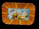 Chanukah Sameach Donut Tray