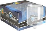 Ner Mitzvah Straight Oil Glasses, 9pk