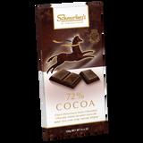 Schmerling's 72% Chocolate, 100g