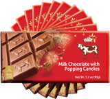 Elite Milk Chocolate with Popping Candies, 90g