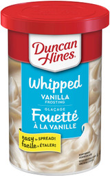 Duncan Hines Whipped Vanilla Frosting, 397g