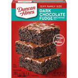 Duncan Hines Dark Chocolate Fudge Brownie Mix, 515g