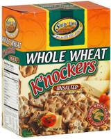 Shibolim Unsalted Whole Wheat K'nockers, 168g