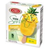Klein's Premium Pineapple Sorbet Bars, 5pk