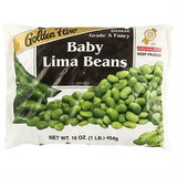Golden Flow Baby Lima Beans, 454g