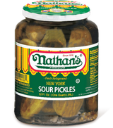 Nathan's New York Style Sour Pickles, 1l